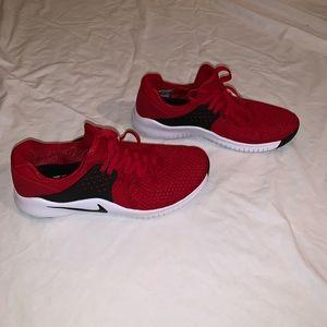 Red Nike Men's Free TR V8 Training Shoe